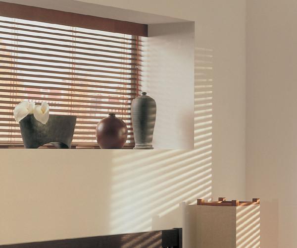 50 mm Holzjalousie - Farbe: Kirschebaum