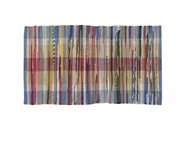 Flickenteppich - Gewebte - 100% Baumwolle - Multicolor
