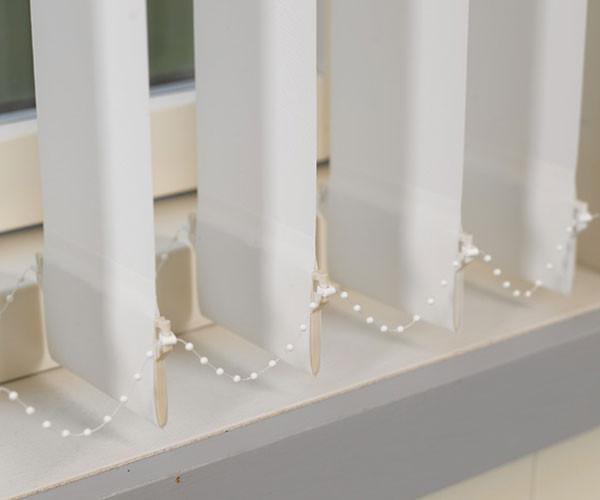 127 mm Lamellenvorhang - Reflexionslamelle