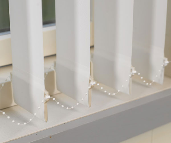 127 mm Lamellenvorhang - Acoustics