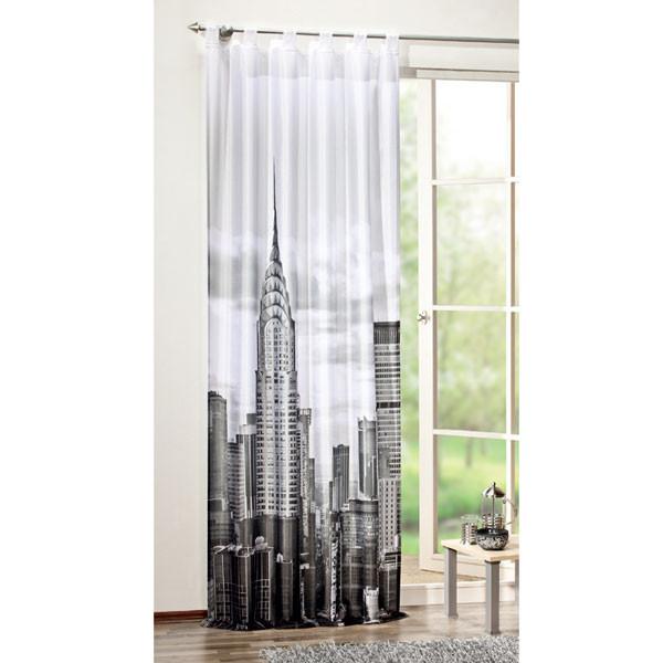 Schlaufenschal / Fertigschal New York 48639-896 - Digitaldruck (BxH) 120x245 cm.