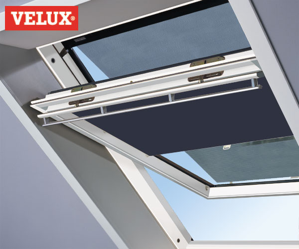 Original VELUX Sichtschutzrollo + Markise - Vorteils-Set