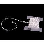 Kette für Beschwerungsplatte - weiß - für 127 mm Lamellenvorhang