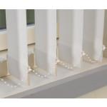 127 mm Lamellenvorhang - Uni