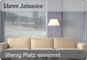 16mm Aluminium Jalousien