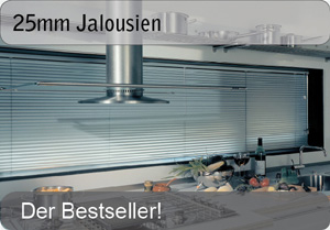 25mm Aluminium Jalousien