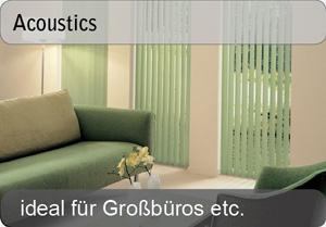 Acoustics Lamellenvorhänge
