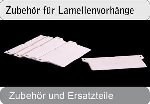 Zubehör für Lamellenvorhänge