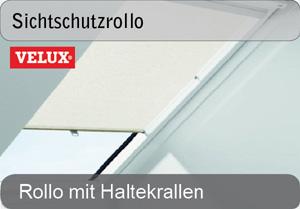VELUX Sichtschutz-Rollos mit haltekrallen